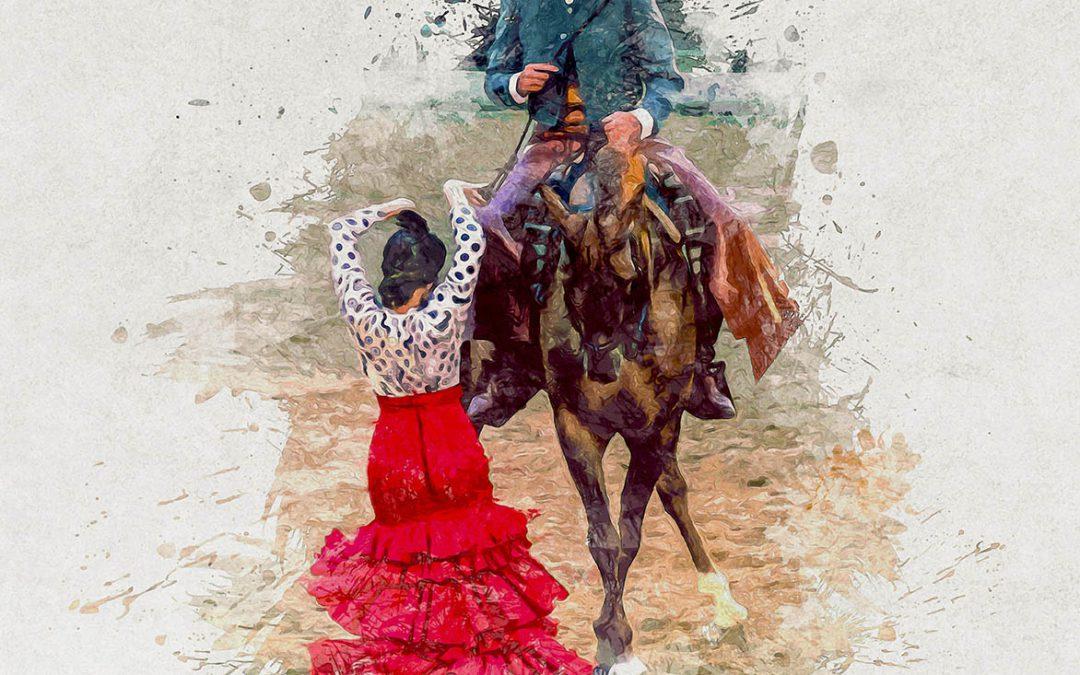 Flamenco dansen met paard